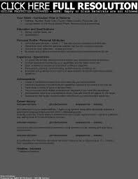 Personal Attributes For A Resume Resume Template