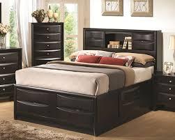 chicago bedroom furniture. Captain Bookcase Storage Bed In Glossy Black Chicago Bedroom Furniture F