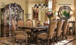 crafty ideas ebay dining room sets suites 7 pc english formal furniture table set antique