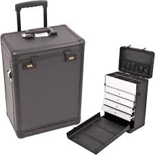 Luggage With Drawers Sunrise C6000 Rolling Makeup Train Cosmetic Beauty Case W Drawer