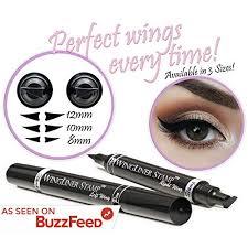 eyeliner st wingliner by lovoir vogue effects black waterproof make up smudgeproof