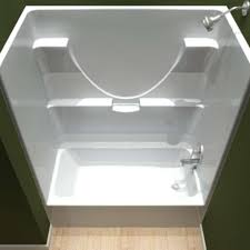 55 inch tub shower combo. centennial tubs showers one piece bathtub shower combo 55 inch tub