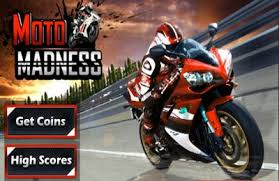 moto madness 3d motor bike stunt racing game