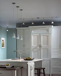 Track Lighting For Kitchen Ceiling Kitchen Track Lighting Fixtures Recessed Lighting In White