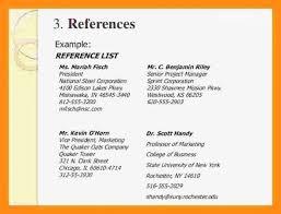 How To List References On A Cv 11 12 References On Cv Elainegalindo Com