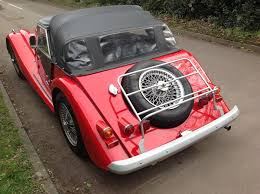 morgan for classic cars for uk lovely origional 4 4 rare fiat twin cam corsa red black interior newish hood and screens wood rim door locks wood polished dash s s exhaust 72 spoke wires