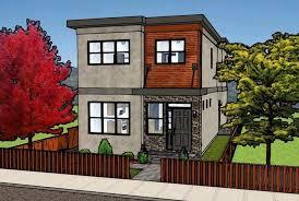 modern multi family house plans fresh 46 best duplex multiplex home designs images on