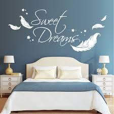 Sweet Dreams Mit Federn Und Sterne Wall Decal