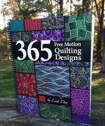 Which is Better? Printed vs. Digital Quilt Books & 365 free motion quilting designs book Adamdwight.com