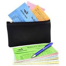 budget helper cash envelopes budget system bonus money wallet pen budget helper 12
