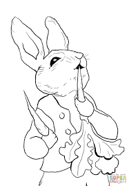 Peter Rabbit Coloring Pages Printable Bunny Application Peter