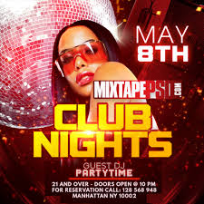 Club Flyer Templates Free Flyer Template Club Nights 23