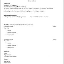 Free Online Resume Templates Magnificent Cv Examples Free Online Resume Template Stunning Templates Builder