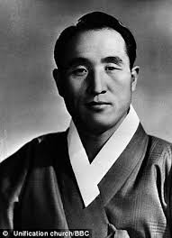 'Emperor of the Universe': Reverend sun Myung Moon as a young man came. 'Emperor of the Universe': Moon as a young man. He came to fame in the UK as a ... - article-2197242-0041A1BE00000258-901_306x423