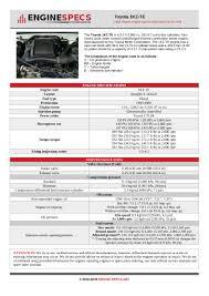 Toyota 1kz Te 3 0 L Sohc Turbo Diesel Engine Specs And
