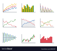 Plot Elements Business Data Graph Analytics Elements Bar Pie