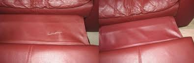 leather couch repairs cuts tears holes and burns on furniture
