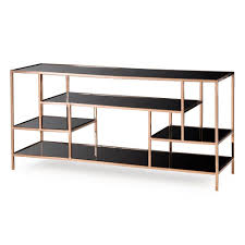 black contemporary sofa tables. Black Contemporary Sofa Tables. Kelly Hoppen By Resource Decor Miro Etagere Sideboard Brass Finish Tables