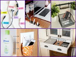 Make Charging Station Easy Diy Charging Station Home Organization Ideas Youtube