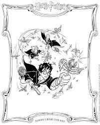 Harry Potter Kleurplaat Harry Potter Shshiinfo