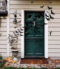 exterior door stickers. felt bats halloween door decorations exterior stickers