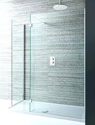 showers large shower tray extra enclosures long door sweep trays design double sided walk in