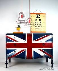 Union jack furniture Flag British Painted Bedroom Furniture Furniture Fix Funky Furniture Cabinet Furniture Refurbished Furniture Pinterest 105 Best Union Jack Furniture Images Furniture Makeover Furniture