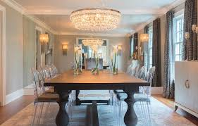 Small Picture Dining Room Mirrored Accent Walls Design Ideas