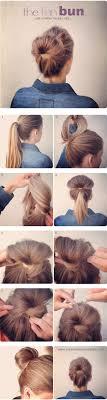 diy fan bun hair tutorial hair beauty long hair updo bun how to diy hair hair tutorial hairstyles tutorials hair tutorials easy hairstyles