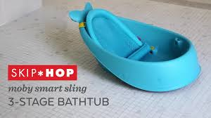 Blue Bathtub skiphop moby smart sling 3stage tub in blue bed bath & beyond 4315 by xevi.us