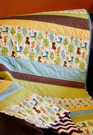 Baby Quilt Pattern Classy Straight Line Baby Quilt Patterns FaveQuilts