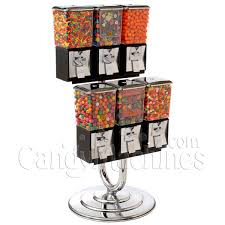 Bulk Vending Machine Candy Magnificent Buy Northwestern 48 Unit Candy And Gumball Vending Machine Combo