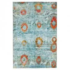 abstract ikat rug 4 9 x7 3