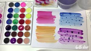 Calligraphy Backgrounds Create Simple Watercolor Wash Backgrounds