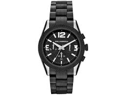 new karl lagerfeld watches for the cold season for classy men a dark side the kurator watch sports a matt black and silver color combination that is simple yet certainly not dull