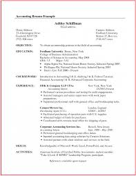 Entry Level Accounting Job Resume Templates Financial Accountant Job Description Template Entry 88