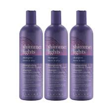 Does Walmart Sell Shimmer Lights Shampoo Clairol Professional Shimmer Lights Blonde Silver Shampoo 16 Oz 3 Pack 3 X 16 Oz Walmart Com