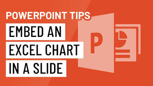 Embed Chart In Powerpoint Powerpoint Quick Tip Embed Excel Charts In A Slide
