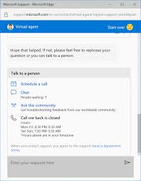 Microsoft Virtual Support Agent Will Help You Solve Your