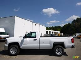 2015 Chevrolet Silverado 3500HD WT Regular Cab 4x4 in Summit White ...