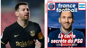 The newly crowned champions have left their fans in stiches after posting a picture of the argentine in the team's uniform. Lionel Messi Photoshopped In A Psg Jersey In France Football S Cover Page