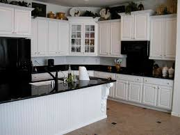 White Kitchen Black Appliances Kitchen Forniture and Exterior page