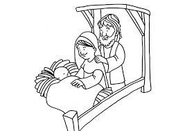 Kleurplaat Geboorte Van Jezus Afb 18665 Images