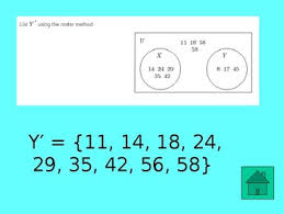 Set Notation Venn Diagram Interactive Jeopardy Set Notation Union Intersection