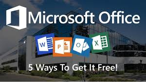 office com free 5 ways you can use microsoft office for free youtube