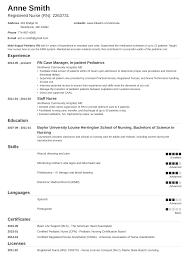 Resume Nurse 20 Nursing Resume Examples Template Skills Guide