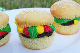 cool cupcakes for girls.  Cupcakes Cute Hamburger Cupcakes Fun For Kids  Jamie Cooks It Up  Family  Favorite Food And Recipes To Cool Cupcakes For Girls E