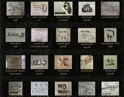 jewelry makers marks in alphabetical order photo 1