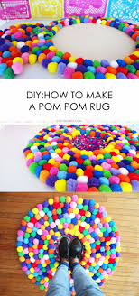 diy teen room decor ideas for girls diy pom pom rug creative ideas for