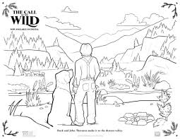 Select from 35302 printable crafts of cartoons, nature, animals, bible and many more. Free Printable Call Of The Wild Coloring Page Mama Likes This